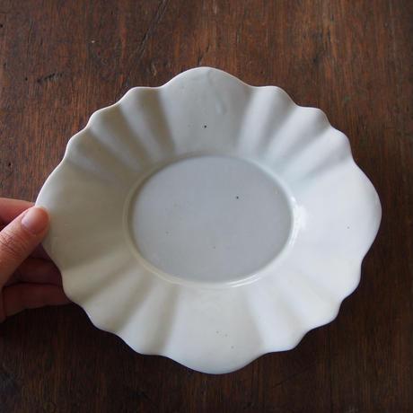 三浦ナオコ 輪花リム楕円皿