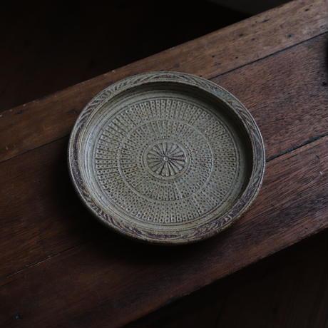 叶谷真一郎 三島6.5寸平皿