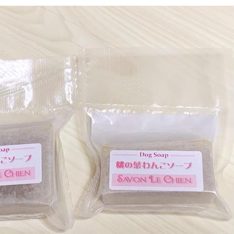 桃の葉わんこソープ ミニサイズ