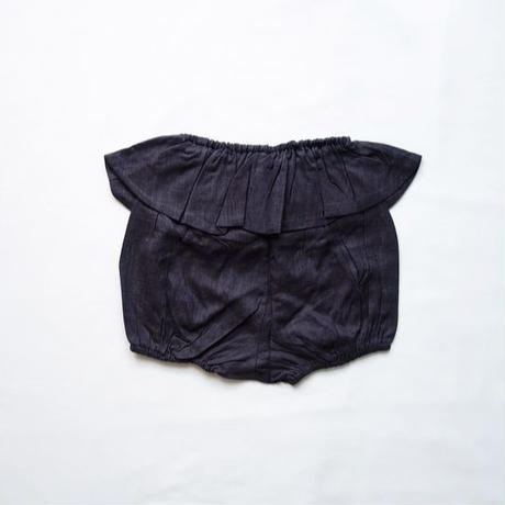 Girls Cotton Bloomers / Charcoal grey