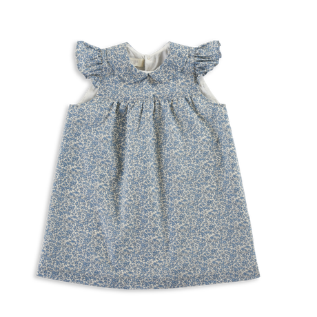 OLIVIER LONDON  / Amber Baby Dress With Pants  - Chamomile Blue -