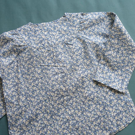 OLIVIER LONDON  /  Monty Liberty Shirt - Frederik Blue -