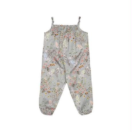 Christina Rohde  / Grey  With Flowers  Jumpsuit