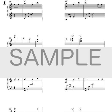 [楽譜]10分間ジャズピアノレッスン「ハッピー・バースデイ」初級編・中級編