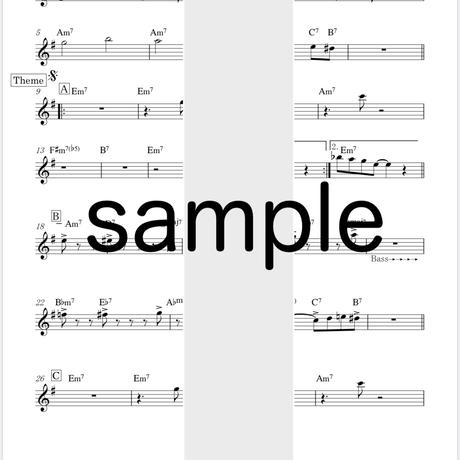 6thアルバムBREAKIN'  [楽譜PDF](パート譜)