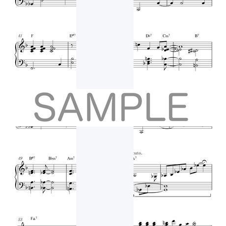 [楽譜]10分間ジャズピアノレッスン[上級編]「ジングルベル」