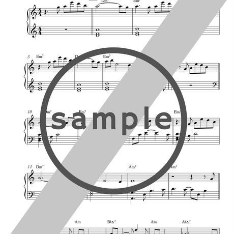 7thアルバム 光の向こうへ  [楽譜PDF]