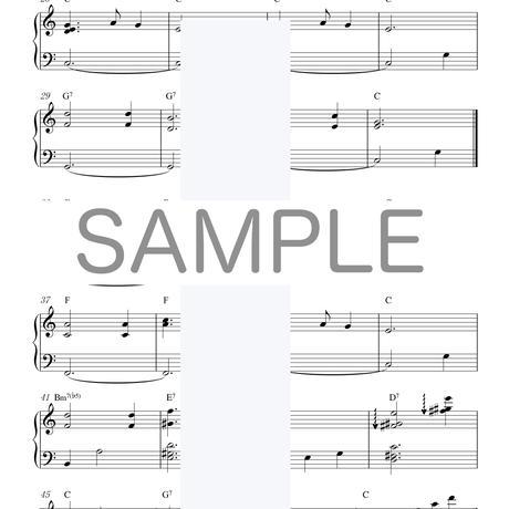[楽譜]10分間ジャズピアノレッスン[初級編・中級編]「きよしこの夜」