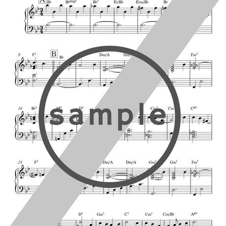 ソロピアノアレンジ譜(1曲) 4th「Solo Piano」&7th「光の向こうへ」 [楽譜]