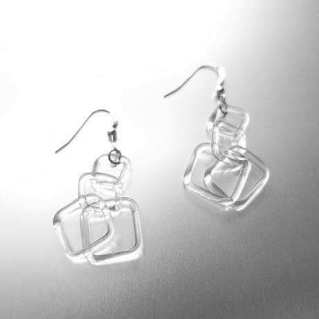 Square Chain Earring