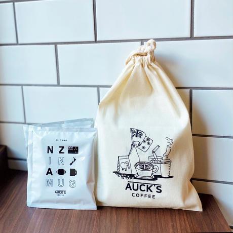 SET/ドリップバッグ5p&オリジナル巾着袋