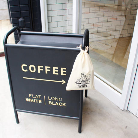 AUCK'S COFFEE オリジナル巾着袋