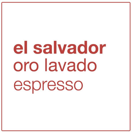コーヒー豆/ el salvador oro lavado(250g)