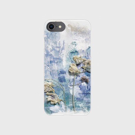 dryflower03 clear iPhone case