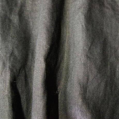 リネン コールドマーセ ギャザーシャツ <16111-BL>
