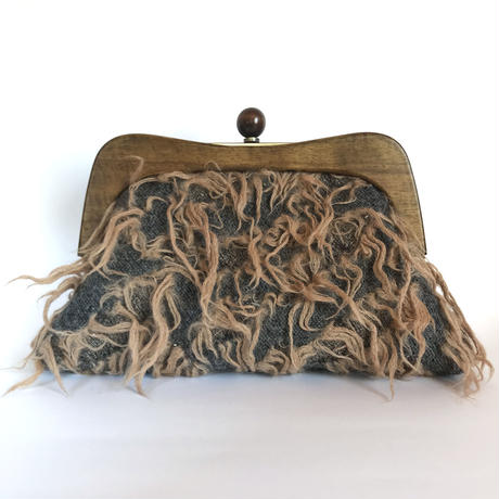Wood Clutch Bag  / 2081