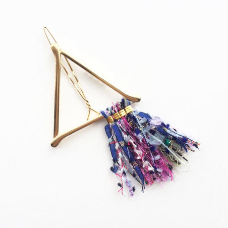 Pyramid Fringe Clip / 013103