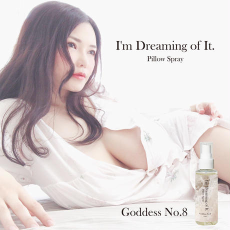 Produced by Anri Okita [Limited 100 pieces!] Goddess No.8  I'm dreaming of it  Pillow Spray <Signed>
