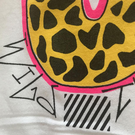 "80's reprint ""Wild Thing"" printed Tee shirts"