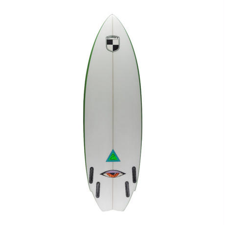"5'8""USED BOARD     HIGHPERFORMANCE  ""Penny""    Air brushed & Hand shaped by Peter Schroff"