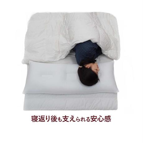 【送料無料】スーパーホテル仕様ハニカムコルマ枕(大) 100cm×43cm 枕カバー1 枚付