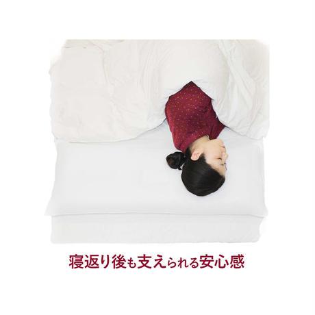 【送料無料】スーパーホテル仕様ハニカムコルマ枕(大)※※低め※※ 100cm×43cm 枕カバー2枚付