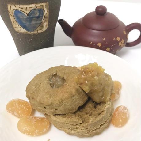 【スコーン】ほうじ茶と白花豆のスコーン