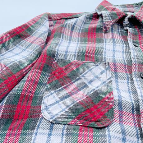 80's Custom design heavy-flannel shirt / 80年代 カスタムデザイン ヘビネル