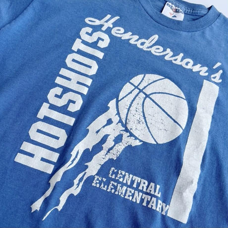 90's Kid's basketball tee