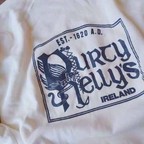 80's Ireland soft sweat shirt / 80年代 プリント スウェットシャツ