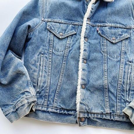 Levi's denim boa jacket / リーバイス デニムボアジャケット