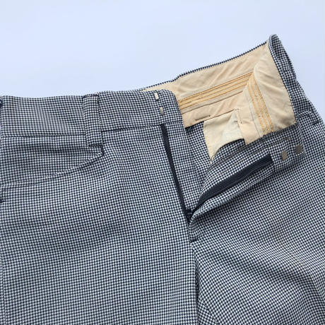 70's Hound's Tooth pattern shorts