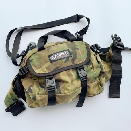 Outdoor products camouflage bag / アウトドア 迷彩バッグ