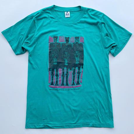 80's Tribal art print tee / 80年代 プリントTシャツ