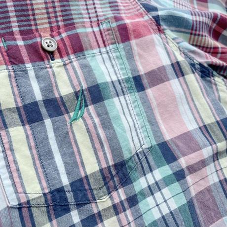 Nautica s/s check shirt