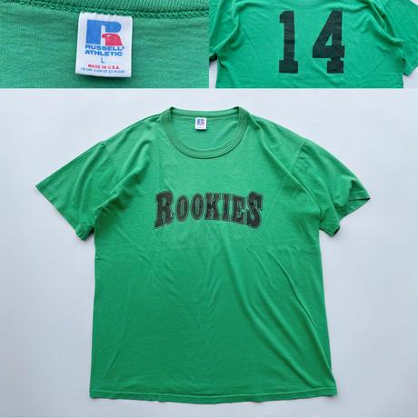 80's Russell athletic rookies tee / 80年代 ラッセルアスレチック ルーキーズ Tシャツ