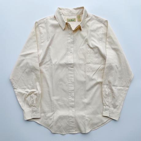 L.L.Bean L/S cotton shirt / エルエルビーン コットンシャツ