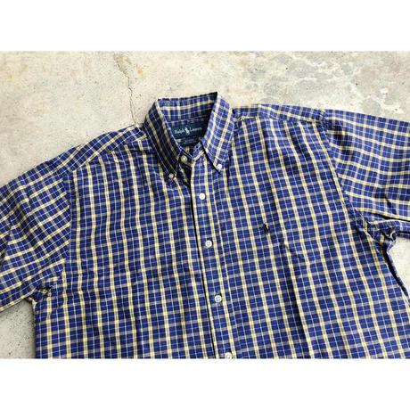 RalphLauren S/S check shirt