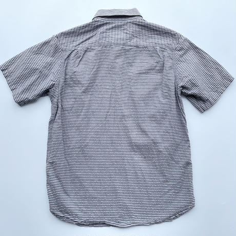Mountain hardwear seersucker shirt / マウンテンハードウェア シアサッカーシャツ