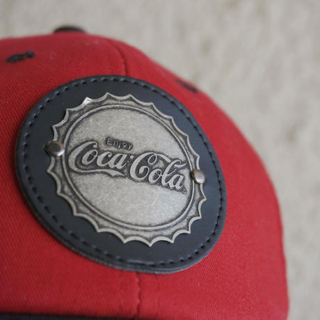 Coca-Cola logo cap