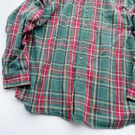 L.L.Bean flannel shirt / エルエルビーン ネルシャツ