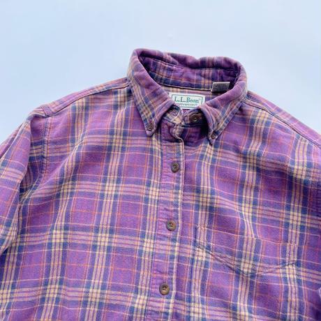 80's L.L.bean heavy-flannel shirt / 80年代 エルエルビーン ヘビネル