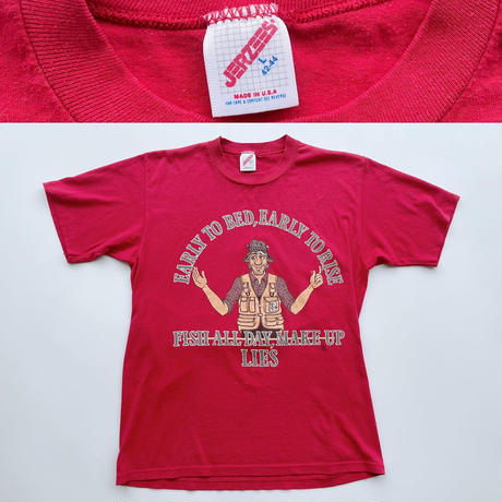 90's Fisherman tee / 90年代 フィッシャーマンTシャツ