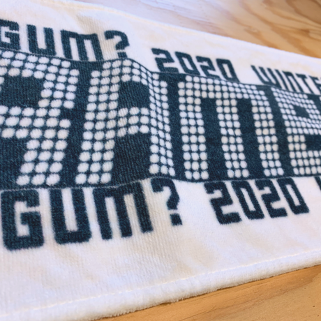 2ndワンマンライブ【SCRAMBLE GUM】オフィシャルタオル