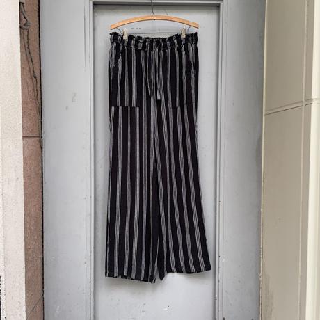 STRIPE PATTERN EASY PANTS[15779]