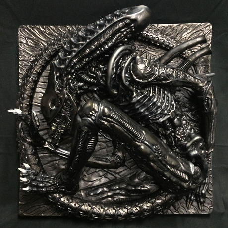 ALIEN  RELIEF by HAYAO HAMA