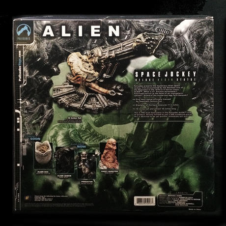 ALIEN SPACE JOCKEY       DELUXE RESIN STATUE