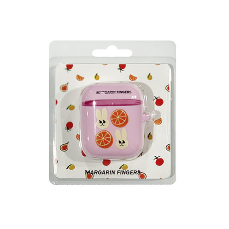 margarin fingers Orange air-pod case