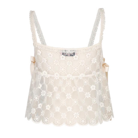 margarin fingers / lace bustier