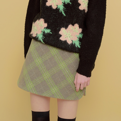 「Margarin fingers」scallop slit skirt